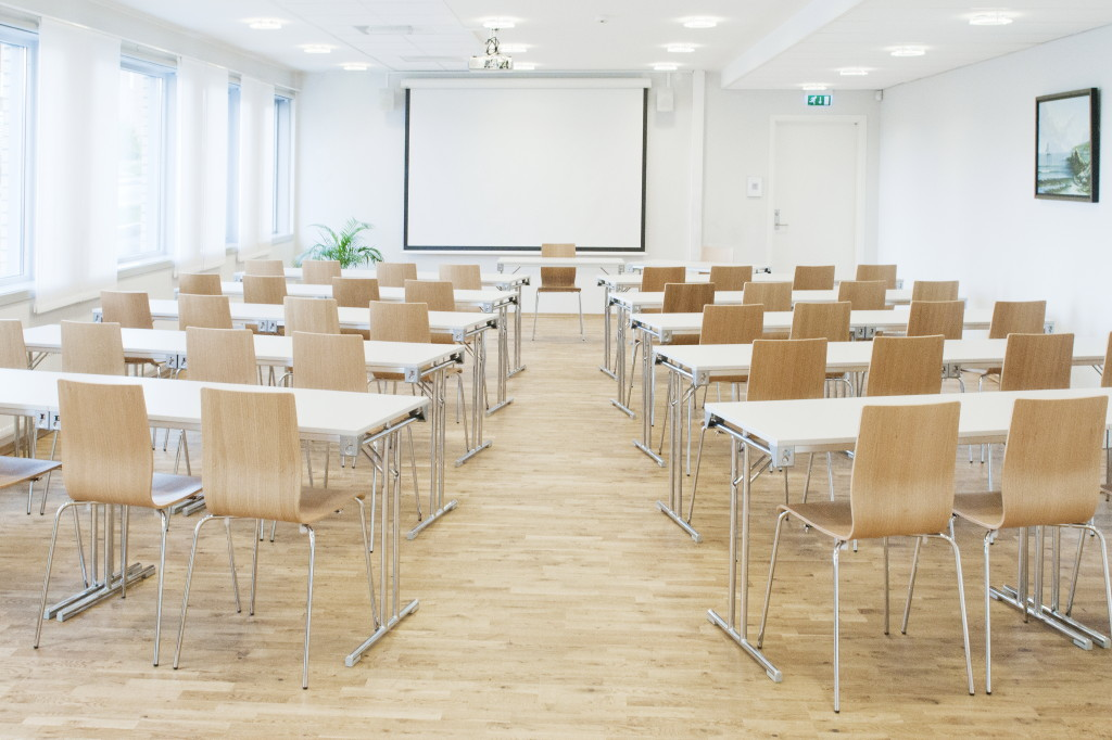 The large conference room