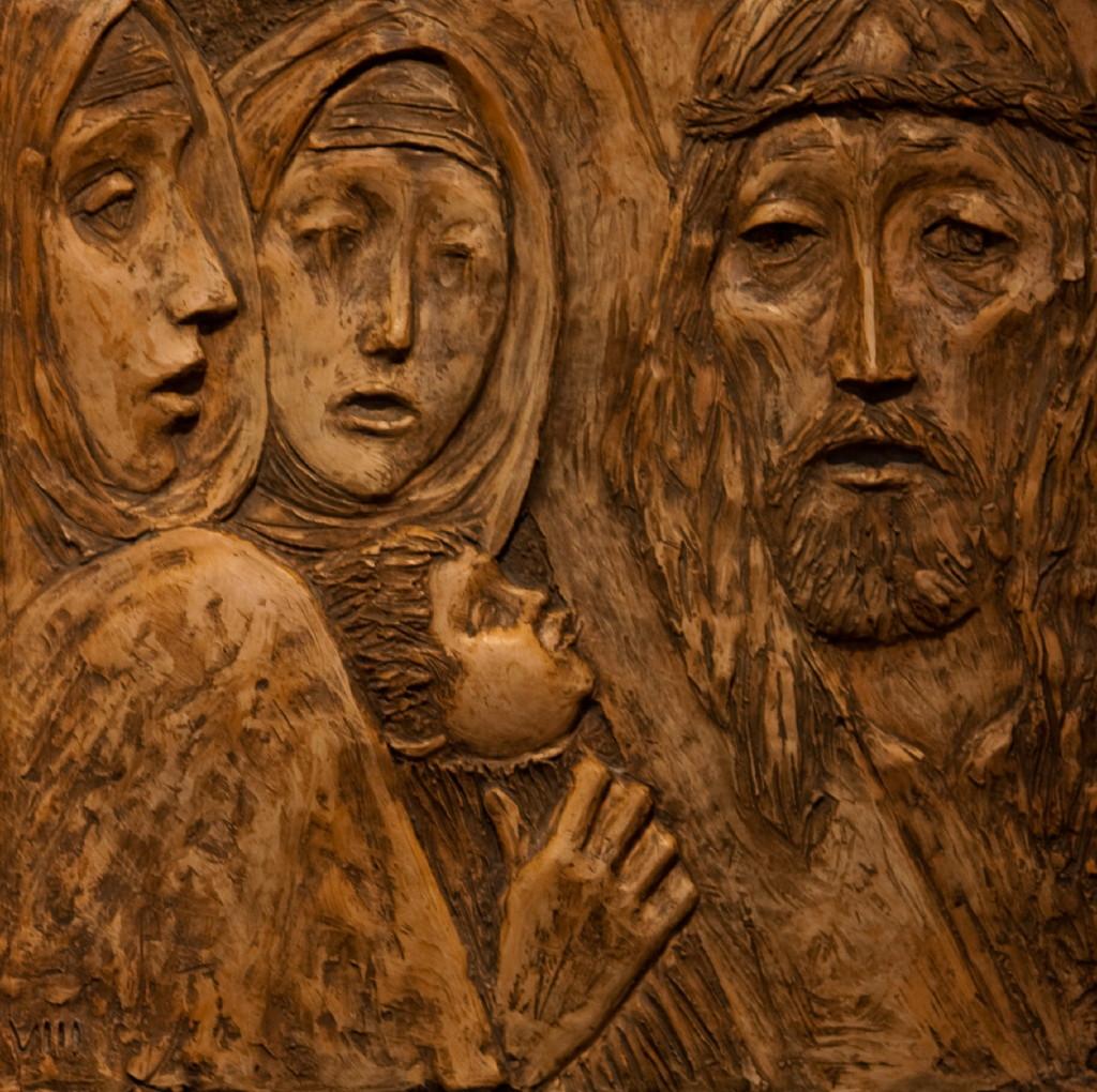 Jesus trøster Jerusalems kvinner