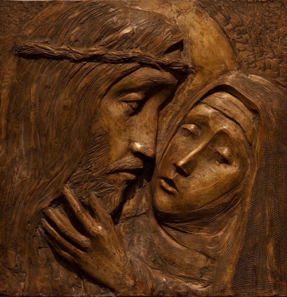 Jesus møter sin mor