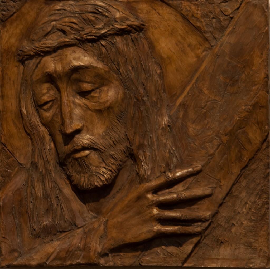 Jesus mottar korset