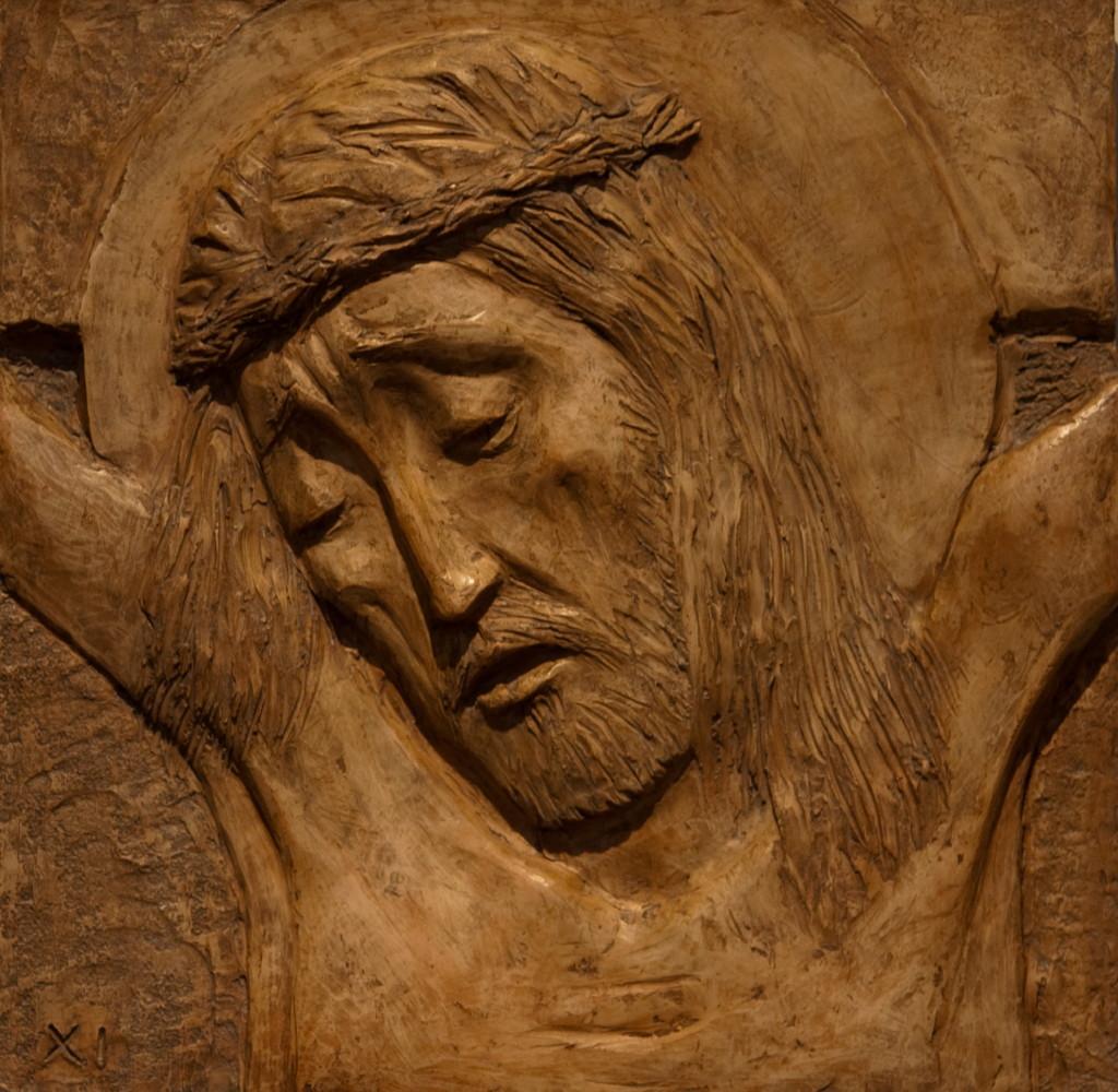 Jesus dør på korset